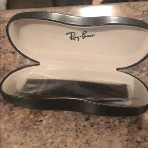 Ray-Ban Sunglass Case With New Cloth